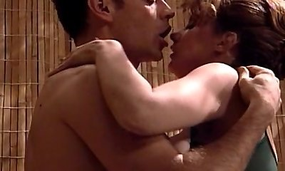 Rocco bangs this broad's ass hole