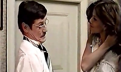 Cute Latina Maid and Her Messy Boss (1970s Antique)