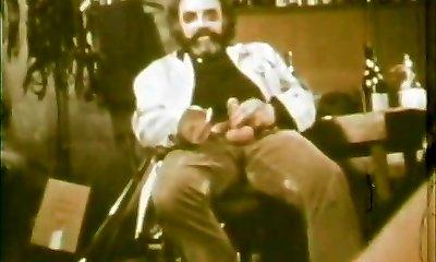 Girl Eating Spunk of Ugly Old Dude (1970s Vintage)