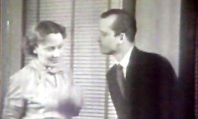 Naughty Secretary gets into Xxx Foursome (Vintage)