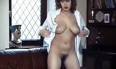 Rock   roll  vintage bouncy big boobs unwrap dance