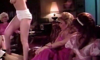 Classical Gash Licking Circle of Pink Lesbians