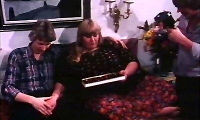 vintage anii' 70 - daneză încercare de dor de formă (germană dub) minciună sfruntată - cc79