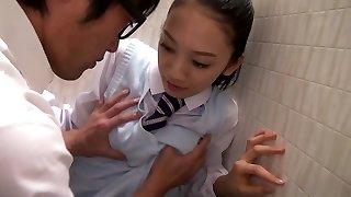 An Tsujimoto in Tsujimoto The Whorish College Girl - TeensOfTokyo