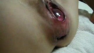Japanese Extraordinary EW Injection - ball in pussy 01