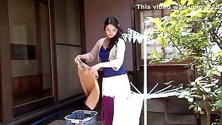 Outstanding Asian model Risa Murakami in Exotic oldie, showers JAV video