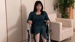 Awesome Asian whore Nozomi Mashiro, Miku Ohashi, Sho Nishino in Exotic Swallow, Handjobs JAV scene
