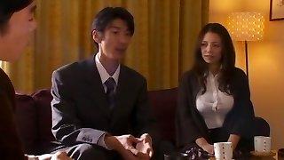 Amazing Asian model Mako Oda in Incredible Handjobs, Wife JAV sequence