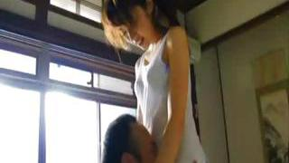 Japanese nymph is fucked before she teaches and when she teaches