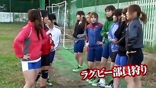 Exotic Japanese gal Saki Kanasaki, Ai Uehara in Best Gang Sex, Pussy Eating JAV scene