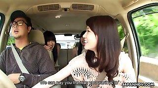 Three fetching Japanese girls including Jyuri Ayase love sucking dick