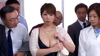 Hottest Japanese superslut Nao Nazuki in Incredible Cougar, Yam-sized Tits JAV vid