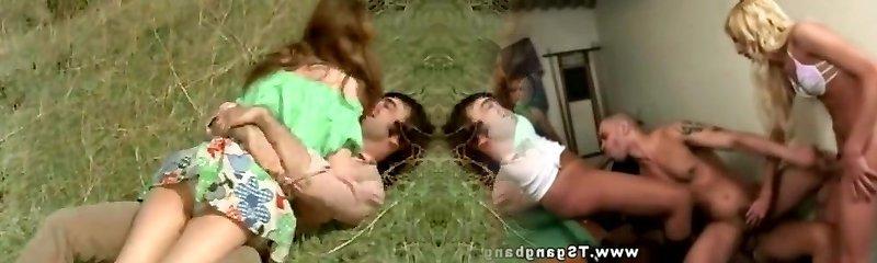 Man Tries to Seduce teenie in Meadow (1970s Vintage)