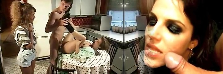 Boy helps Mommy with the dishes German Old School