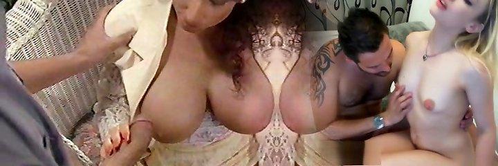 Sarah Young hooter fuck and facial