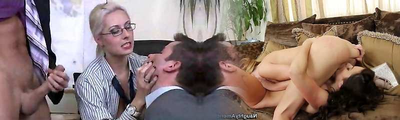 Classic Bisex 3 Way at Office
