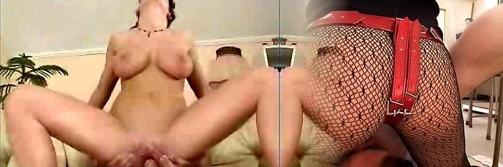 Girl with big tits learns how to pulverize