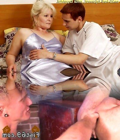 Slideshow with Finnish Captions: Mummy Lena Two