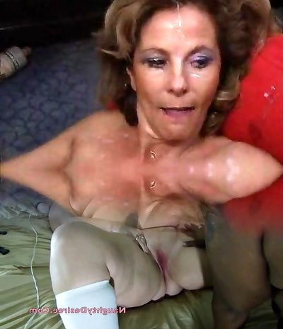Mature wife & daughter take many jizz flows