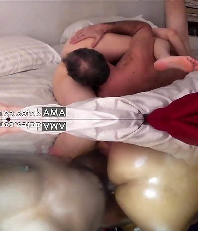 Passionate mature amateur couple 69 and ravage