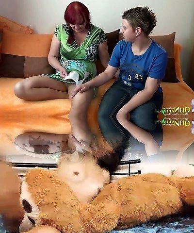 Watch gross but still super duper hot sapphic slut Marcey who loves masturbation