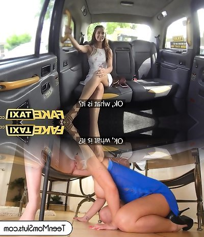 Faux Taxi Horny flexible American sweetheart.mp4