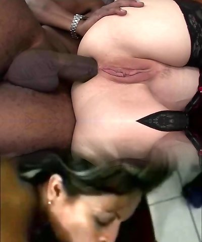 Busty Cougar Ass Demolished