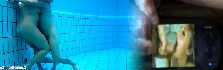 Bare Couples Underwater Pool Covert Spy cam Voyeur HD 1