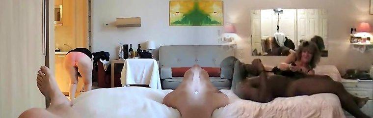 Fat ultra-kinky motel maid made me hard again