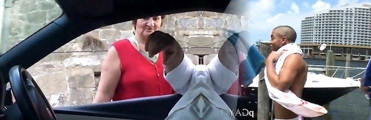 Asking direction grandmother