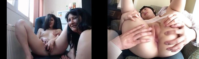 Mother and daughter webcam