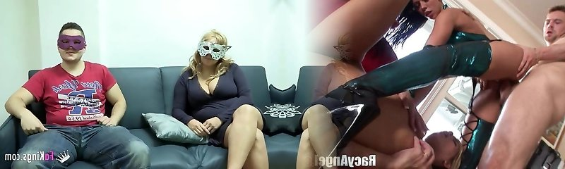 Big boobed blonde want to ravage masked guy