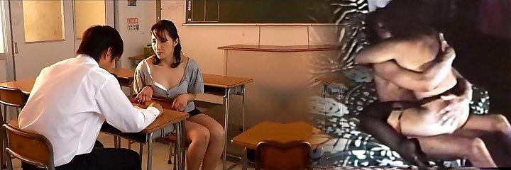 chinese Mature Teacher Fucks Student