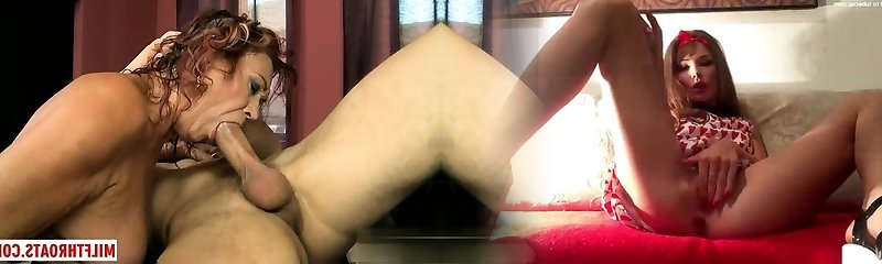 Hot mature sex and cum shot