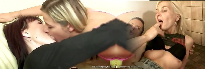 Moms and daughters-in-law boink and piss on each other