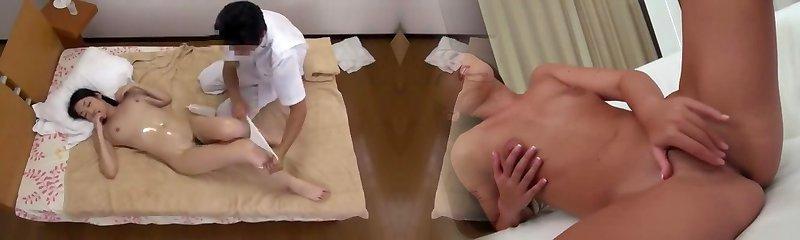 Hottest Japanese doll Rika Momoi, Mao Yura, Reiko Kobayakawa in Glorious Couple, Massage JAV video