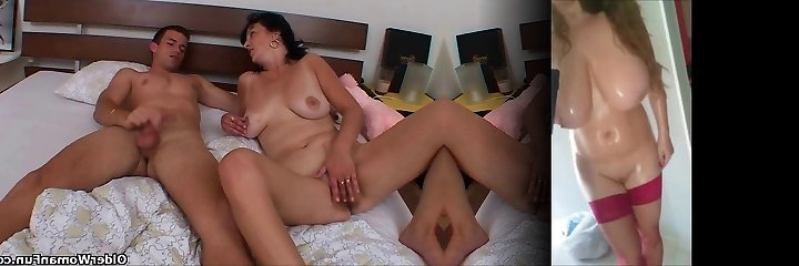 Mom is addicted to her toy boy's cock