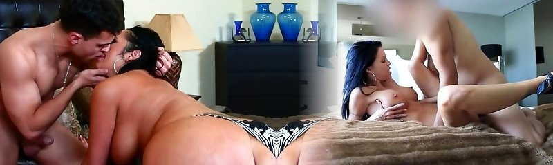 Chubby mommy Vannah Sterling shows off her abilities