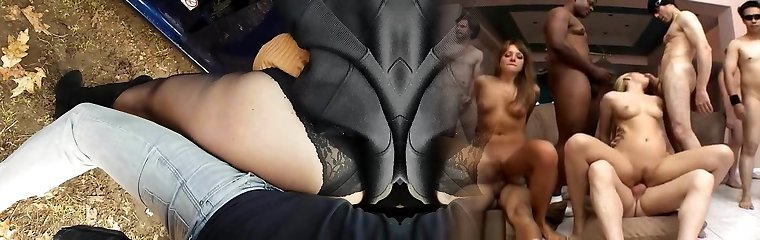 Mature 48. y.o. stockings public fucking (no cum)