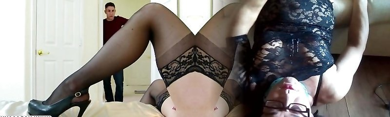 Rude Step Mother Kendra Passion In Stockings Needs Extraordinary Cock