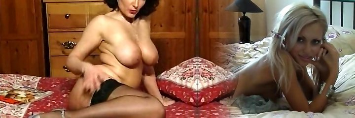 Molten Brunette Busty Milf Teasing in various outfits V SEXY!