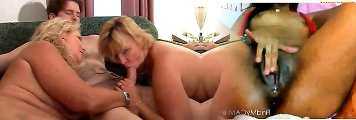 Hot Mature Cougars 3some