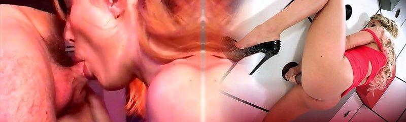 Steamy wifey gets fucked by midget demon