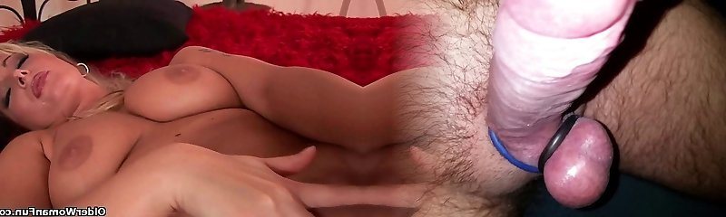 Mother's big mammories and wet pussy could use a little self loving