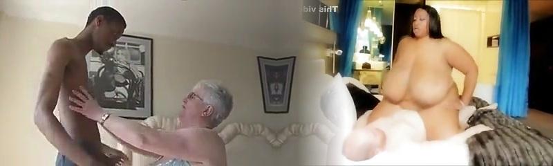 Büyük Boobied Büyükanne Koyu Çikolata Çalışır