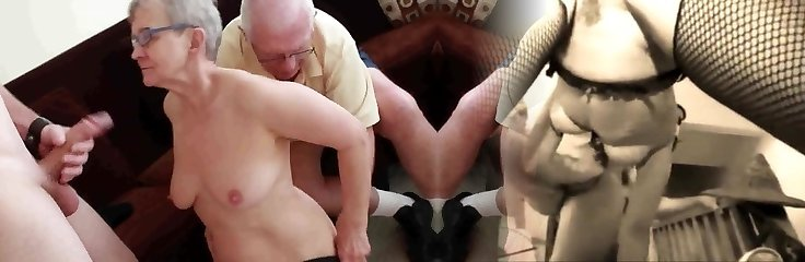 Elderly husband fucked with youthful man