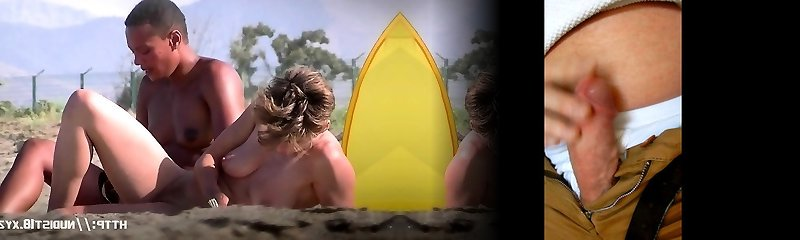 video de la playa naturista