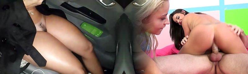 karıcık arabada gösteriliyor