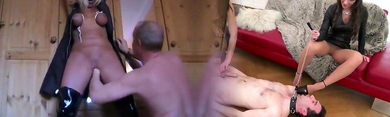 Restrain Bondage Enoys That Is Mature Fisting