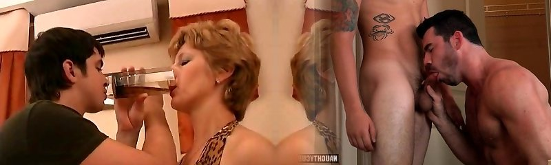 Russian mature Margaret tablefuck